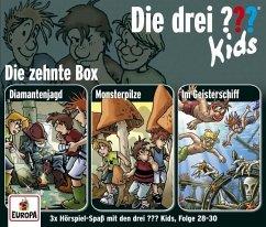 Die drei ???-Kids 3er Box, 3 Audio-CDs - Pfeiffer, Boris; Blanck, Ulf
