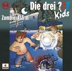 Zombi-Alarm / Die drei Fragezeichen-Kids Bd.54 (1 Audio-CD)