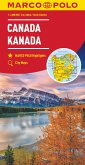 MARCO POLO Kontinentalkarte Kanada 1:4 000 000