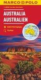 MARCO POLO Kontinentalkarte Australien 1:4 000 000