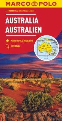 Australia Marco Polo Map - Marco Polo
