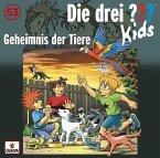Geheimnis der Tiere / Die drei Fragezeichen-Kids Bd.53 (1 Audio-CD)