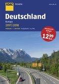 ADAC Reiseatlas Deutschland, Europa 2017/2018 1:200 000