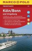 MARCO POLO Freizeitkarte Köln/Bonn und Umgebung