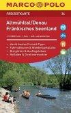 MARCO POLO Freizeitkarte Altmühltal, Donau, Fränkisches Seenland