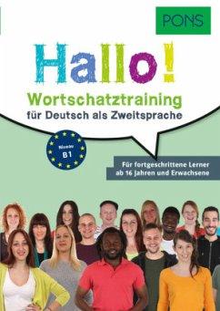 PONS Hallo! Wortschatztraining für Deutsch als ...