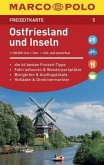 MARCO POLO Freizeitkarte Ostfriesland und Inseln