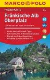 MARCO POLO Freizeitkarte Fränkische Alb, Oberpfalz 1:100 000