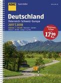 ADAC Superstraßen Deutschland, Österreich, Schweiz & Europa 2017/2018 1:200 000