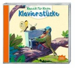 Klassik für Kleine - Klavierstücke, 1 Audio-CD