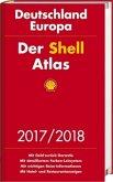 Der Shell Atlas 2017/2018 Deutschland 1:300 000, Europa 1:750 000