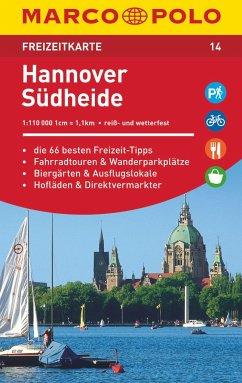 MARCO POLO Freizeitkarte Hannover, Südheide