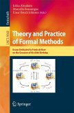Theory and Practice of Formal Methods (eBook, PDF)