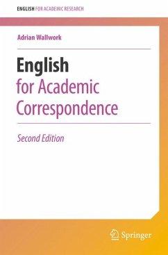 English for Academic Correspondence (eBook, PDF) - Wallwork, Adrian