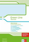 Green Line Oberstufe. Klasse 11/12 (G8), Klasse 12/13 (G9). Abiturthemen für das erhöhte Niveau, Zentralabitur 2018. Arbeitsheft. Niedersachsen