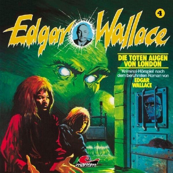 Die toten Augen von London, 1 AudioCD von Edgar Wallace