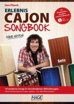 Erlebnis Cajon Songbook, m. MP3-CD - Pfauch, Uwe