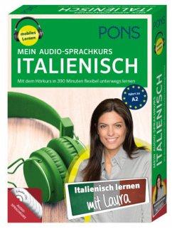 PONS Mein Audio-Sprachkurs Italienisch, 5 MP3-CD