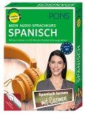 PONS Mein Audio-Sprachkurs Spanisch, 5 MP3-CDs