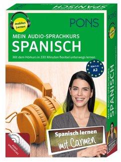 PONS Mein Audio-Sprachkurs Spanisch, 5 MP3-CD