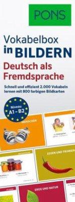PONS Vokabelbox in Bildern Deutsch als Fremdspr...