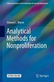 Analytical Methods for Nonproliferation (eBook, PDF)