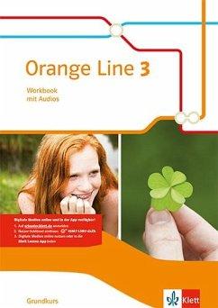 Orange Line 3 Grundkurs. Workbook mit Audio-CD Klasse 7