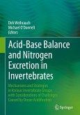 Acid-Base Balance and Nitrogen Excretion in Invertebrates