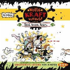Volle Kraft voraus! - Total krasse Ferien, 1 Audio-CD - Lüftner, Kai