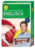 PONS Mein Audio-Sprachkurs Englisch, 5 MP3-CD