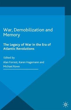 War, Demobilization and Memory (eBook, PDF)