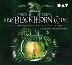 Das Vermächtnis des Alchemisten / Der Blackthorn Code Bd.1 (5 Audio-CDs) - Sands, Kevin