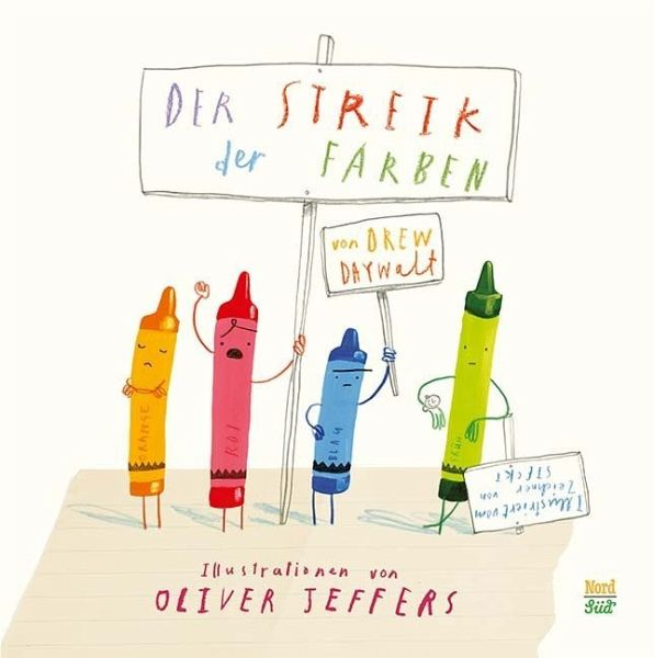Der Streik der Farben von Drew Daywalt - Buch - buecher.de