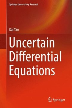 Uncertain Differential Equation