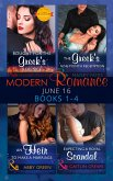 Modern Romance June 2016 Books 1-4: Bought for the Greek's Revenge / An Heir to Make a Marriage / The Greek's Nine-Month Redemption / Expecting a Royal Scandal (eBook, ePUB)