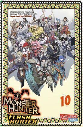 Buch-Reihe Monster Hunter Flash Hunter