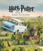 Harry Potter und die Kammer des Schreckens / Harry Potter Bd.2 (vierfarbig illustrierte Schmuckausgabe)