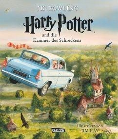 Harry Potter und die Kammer des Schreckens / Harry Potter Bd.2 (vierfarbig illustrierte Schmuckausgabe) - Rowling, J. K.