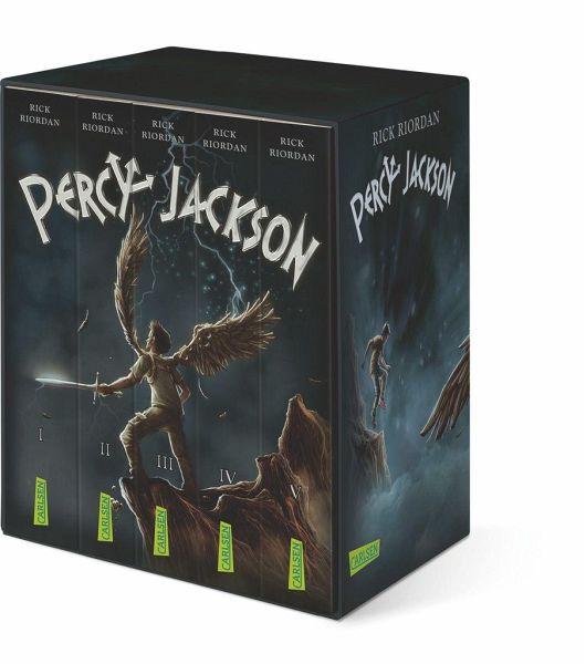 percy jackson taschenbuchschuber von rick riordan