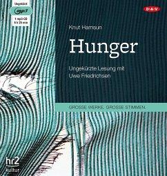 Hunger, 1 MP3-CD - Hamsun, Knut