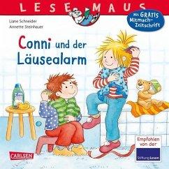 Conni und der Läusealarm / Lesemaus Bd.23 - Schneider, Liane; Steinhauer, Annette