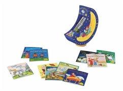 Pixis Einschlaf-Bücher. Spieluhr mit 15 Pixi-Büchern