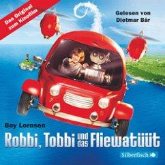 Robbi, Tobbi und das Fliewatüüt - Das Originalhörbuch zum Film, 6 Audio-CDs - Lornsen, Boy