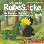 Der kleine Rabe Socke - Die Wunscherfüllkiste und andere rabenstarke Geschichten, 1 Audio-CD