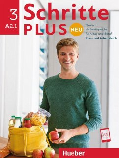 Schritte plus Neu 3. Kursbuch+Arbeitsbuch+CD zum Arbeitsbuch. - Niebisch, Daniela; Penning-Hiemstra, Sylvette; Pude, Angela; Specht, Franz; Reimann, Monika