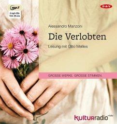 Die Verlobten, 2 MP3-CDs - Manzoni, Alessandro