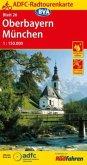 ADFC-Radtourenkarte 26 Oberbayern, München