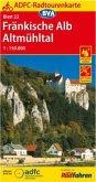 ADFC-Radtourenkarte 22 Fränkische Alb; Altmühltal