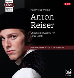 Anton Reiser, 2 MP3-CD - Moritz, Karl Philipp