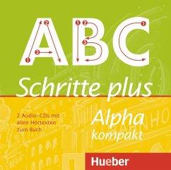 2 Audio-CDs mit allen Hörtexten zum Buch / Schritte plus Alpha kompakt - Böttinger, Anja